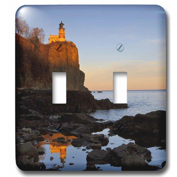 3drose Split Rock Lighthouse Two Harbors Minnesota 2 Gang Toggle Light Switch Wall Plate Wayfair