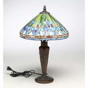 Eskew Floral Tiffany 20 Table Lamp