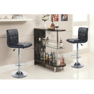 Alarice 3 Piece Dining Set