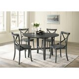 Muttontown 5 Piece Dining Set by Gracie Oaks