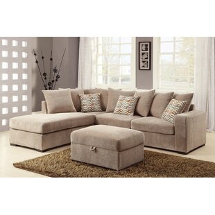 Double Chaise Sectional | Wayfair