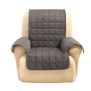 Box Cushion Recliner Slipcover by Sure..