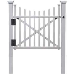 4 Ft. H X 4 Ft. W Manchester Vinyl Gate By Zippity Outdoor Products