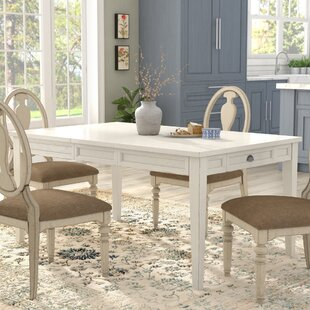 Duclos Extendable Dining Table by Highland Dunes