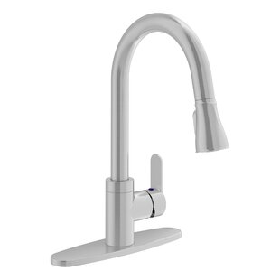 Symmons Identity Pull Down Touch Single Handle Kitchen Faucet
