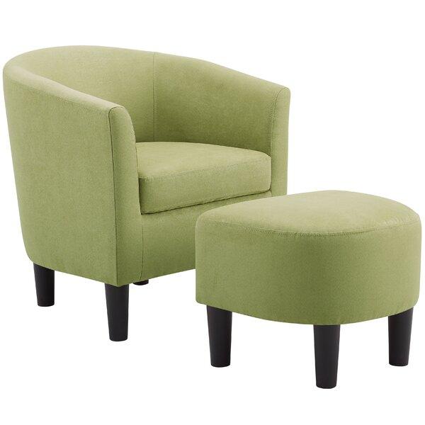 Miraculous Green Chair And Ottoman Wayfair Creativecarmelina Interior Chair Design Creativecarmelinacom