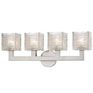 Mercer41 Teegan 4-Light LED Vanity Light