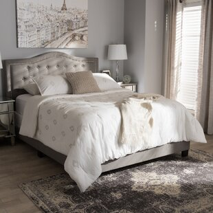 Somme Upholstered Platform Bed By Fleur De Lis Living