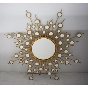 Engelhardt Starburst Accent Mirror by Brayden Studio