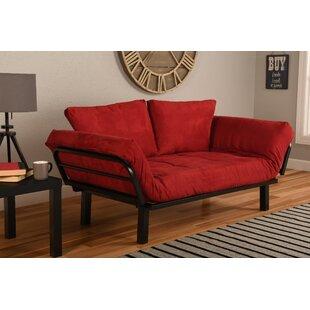 Red Futon Sofa   Wayfair