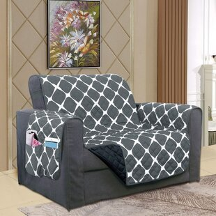 Reversible Furniture Protector Box Cushion Loveseat Slipcover
