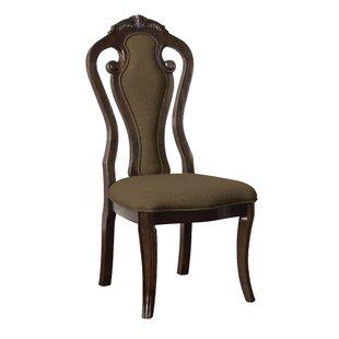 Astoria Grand Fleur Upholstered Dining Chair (Set of 2)