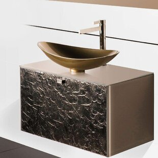 Audette Luxury 32 WallMounted Single Bathroom Vanity by Everly Quinn