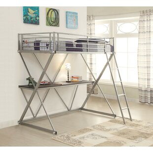 Continuum Workstation Loft Bed by Harriet Bee