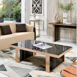 Mercer41 Lurmont 2 Piece Coffee Table Set