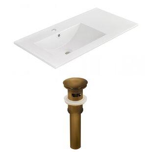 Drake 36 Single Bathroom Vanity Top ByRoyal Purple Bath Kitchen
