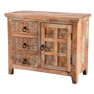 Khan 3 Drawer Combi Chest By World Menagerie