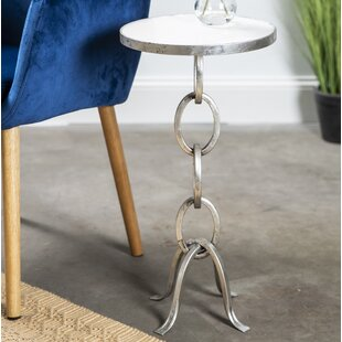 Orren Ellis Guerrero Stacked Chain Links End Table