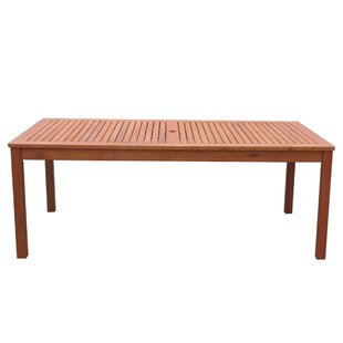 Beaulieu Wooden Dining Table By Alpen Home