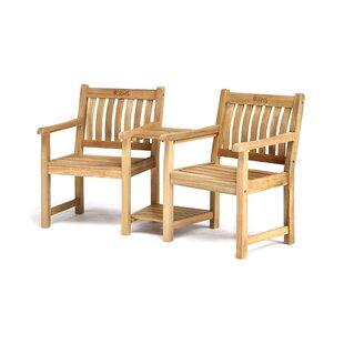 RHS Chelsea Solid Wood Love Seat By Kettler UK