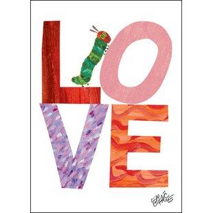 Eric Carle's Caterpillar Love Canvas Art