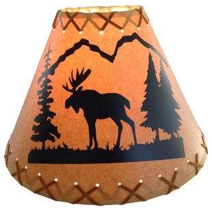 Moose 14 Paper Empire Lamp Shade