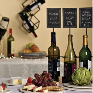 Chalkboard Labels 3 Bottle Tabletop Wine ..