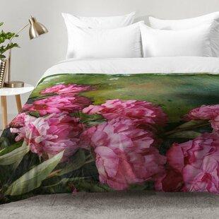 East Urban Home Peony Romance Comforter Set
