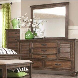 Beachcrest Home Dorrington Dresser with Mirror