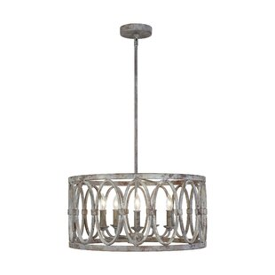 Cavana 5-Light Drum Chandelier
