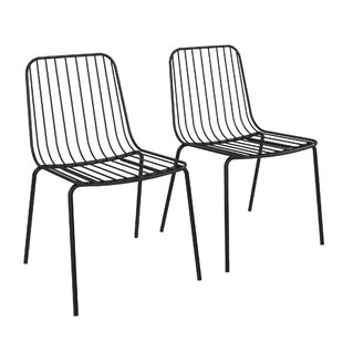 Bourquin Wire Dining Chair (Set of 2)