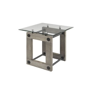 Rikki End Table by 17 Stories