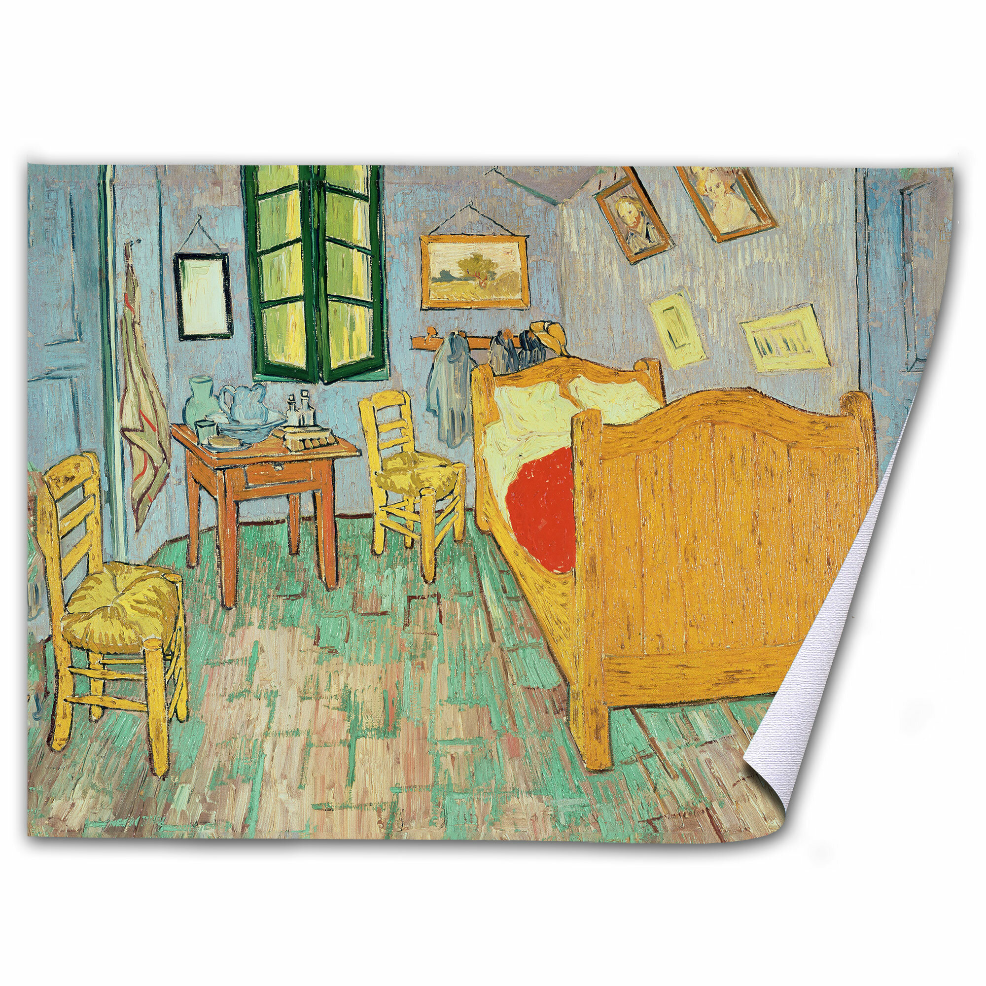NEW Famous Painting Art Print POSTER Vincent van Gogh Bedroom in Arles 1888