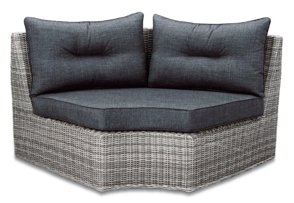 kampen living zweiersofa sara mit kissen. Black Bedroom Furniture Sets. Home Design Ideas