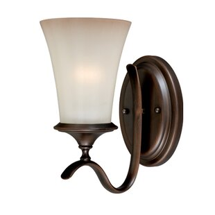 Fleur De Lis Living Bryd 1-Light Bath Sconce