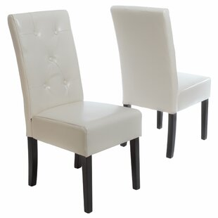 Latitude Run Corinne Upholstered Dining Chair (Set of 2)