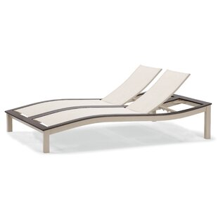 Bazza Double Reclining Chaise Lounge