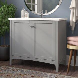 Aguilar 40 Single Bathroom Vanity Set by Mercury Row