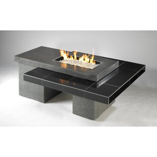Uptown Concrete Gas Fire Pit Table