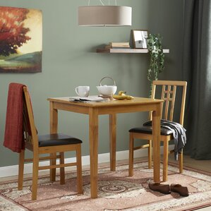 Lovejoy Dining Set With 2 Chairs