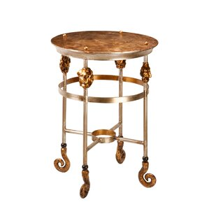Armory End Table by Flambeau Lighting