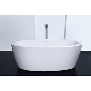 60 x 30 freestanding tub. Aquatica Air Whirlpool Bathtubs You ll Love  Wayfair
