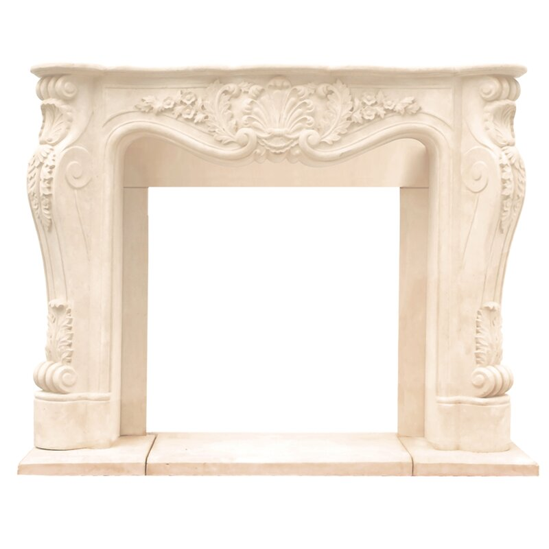 Chateau Louis Fireplace Surround