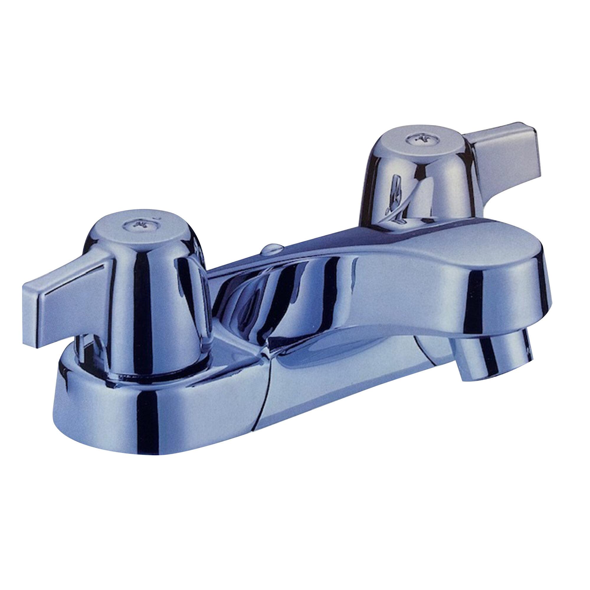 Aa Warehousing Lavatory Centerset Bathroom Faucet With Drain Assembly Wayfair