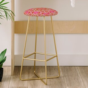Lisa Argyropoulos Autumn Rapture Kaleido 31 Bar Stool East Urban Home