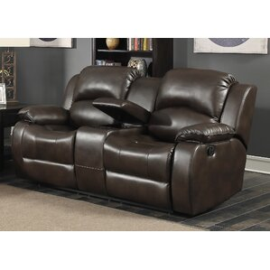 Samara Transitional Reclining Loveseat by AC..