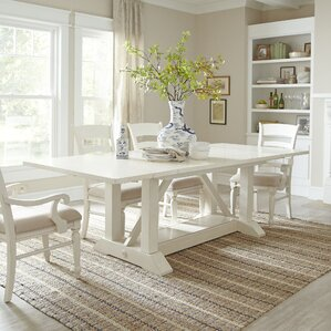 White Dining Room Sets 6 seat kitchen & dining tables you'll love | wayfair