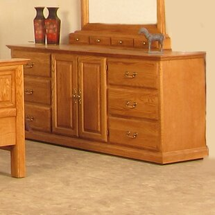 Lacluta 6 Drawer Combo Dresser