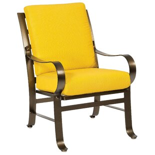 Cascade Patio Dining Chair With Cushions by Woodard Find