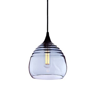 Latitude Run Segers 1-Light Cone Pendant